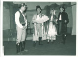 Quartet from The bartered bride, The University of Iowa, July 1950