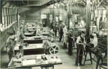 Mechanical engineering students at work, The University of Iowa, 1920s