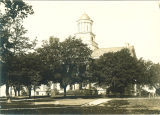 Pentacrest and Old Capitol, The University of Iowa, 1910s