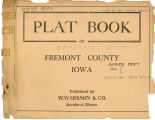 Plat book of Fremont County, Iowa