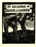 Julius J. Lankes Bookplate