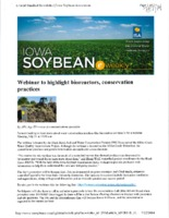 Webinar to Highlight Bioreactors