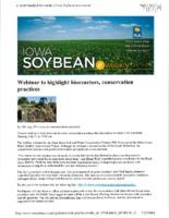 Webinar to Highlight Bioreactors