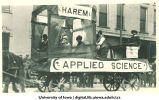 Engineering float in parade, The University of Iowa, 1910s