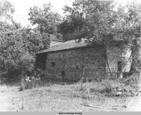 Brewery exterior, Amana, Iowa, 1953
