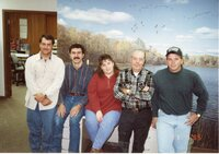 1995 - NRCS Office Staff at the Des Moines County Soil and Water Conservation District office pose for a photo