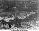 Pentacrest, The University of Iowa, 1923