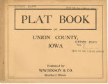 Plat book of Union County, Iowa
