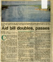 Aid Bill Doubles