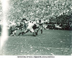 Iowa-Illinois football game, The University of Iowa, October 8, 1949