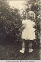 Viddie as a toddler