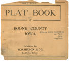 Plat book of Boone County, Iowa
