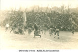 Iowa-Iowa State homecoming football game at Iowa Field, The University of Iowa, November 15, 1913