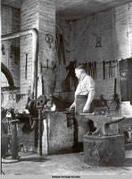 Blacksmith, Amana, Iowa, August 1937