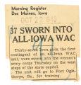 37 sworn into all-Iowa WAC