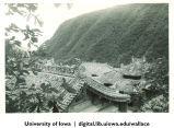Houses at base of hill, China, 1944