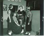 Freshmen members of the Scottish Highlanders, The University of Iowa, October 11, 1954