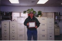 2000 - Wayne Wasson holds the award for winning the Owner/Operator Award