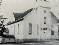 St. Peter Lutheran Church in Garnavillo, Iowa -after 1937