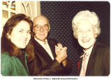 Mary Louise Smith, right, with L. B. Liddy, center,  March 1981