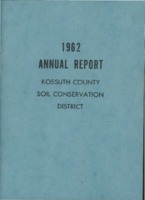 1962 Kossuth County Soil and Water Conservation District Annual Report
