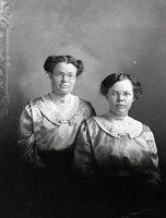 Two women in glasses