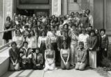Library technical services staff, 1980