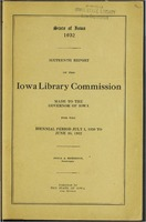 16. Sixteenth Report of the Iowa Library Commission