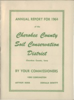 Cherokee County Soil Conservation District Annual Report - 1964