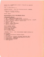 1973 to 1975 Hardin Soil Conservation District Commissioners Minutes