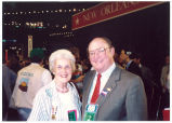 Mary Louise Smith and presidential press secretary Marlin Fitzwater at the Republican National Convention, New Orleans, La., 1988