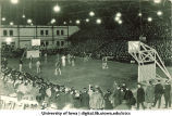 Basketball game in the Armory, The University of Iowa, 1923