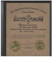 1969 Twenty-Five Years of Effective Operation Certificate