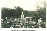 Fete at City Park commemorating Shakespeare tercentenary, The University of Iowa, 1916