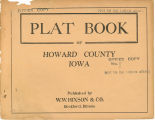 Plat book of Howard County, Iowa