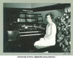 Elaine Blair, WSUI staff organist, The University of Iowa, 1930s
