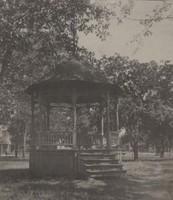 Garnavillo, City Park - Bandstand 1900
