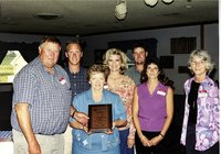 DeMeulenare Family presented award