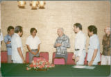 Earl O. Heady with collaborators before banquet for the Indonesian Project Contract