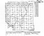 Iowa land survey map of t091n, r048w