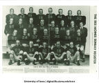 "Iowa's 1939 ""Iron Men"" of football, The University of Iowa, December 17, 1939"