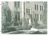 Entrance at Westlawn, The University of Iowa, September 19, 1939