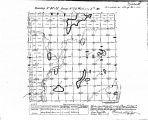Iowa land survey map of t097n, r028w