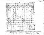 Iowa land survey map of t082n, r034w