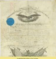 22. Commission of Brig. Gen. James M. Tuttle