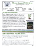 Monroe County SWCD newsletter, 2017