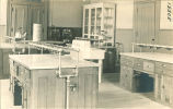 Home economics laboratory kitchen, The University of Iowa, 1920s