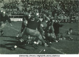 Iowa-South Dakota football game, The University of Iowa, October 6, 1935