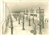 Practice laboratory at Trowbridge Hall, The University of Iowa, 1917