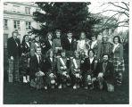 Small group of Scottish Highlanders, The University of Iowa, 1973